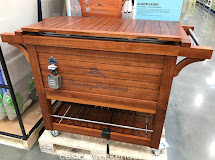 Wood Tommy Bahama Cooler Costco