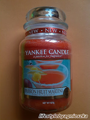 Yankee Cadle Passion Fruit Martini - czy ładny?