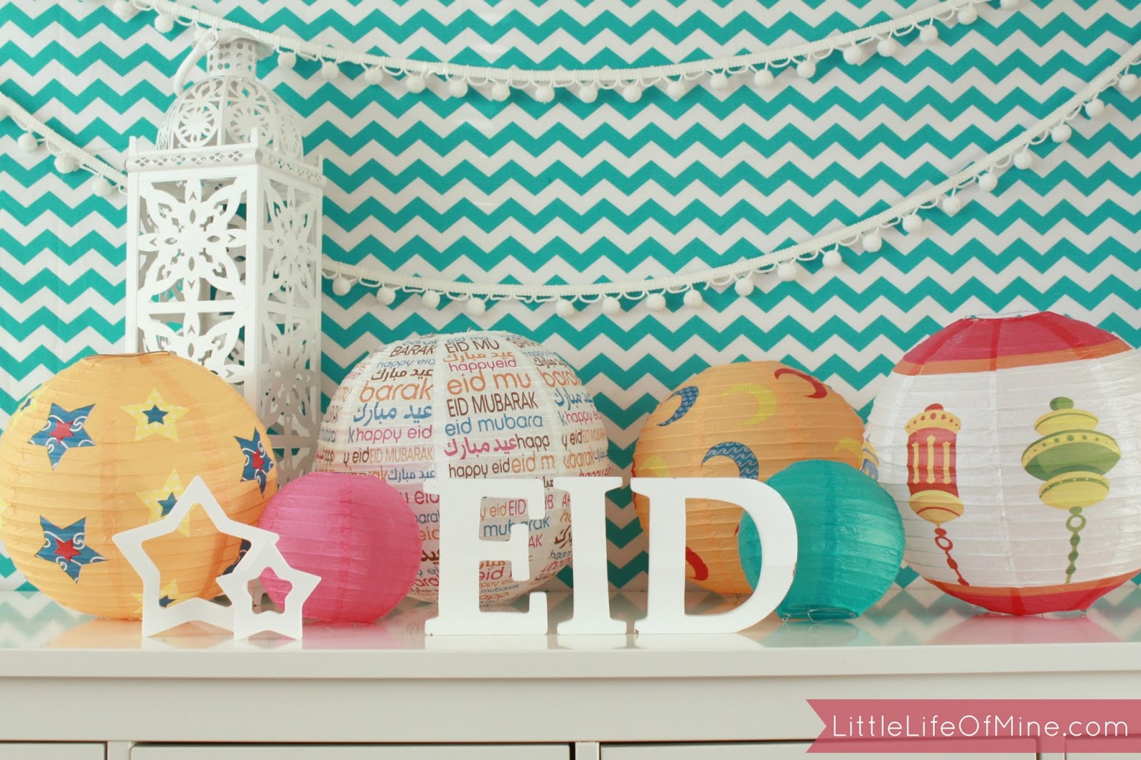 Best eid mubarak home decoration ideas and party ideas 2017 for Eid decorations to make at home