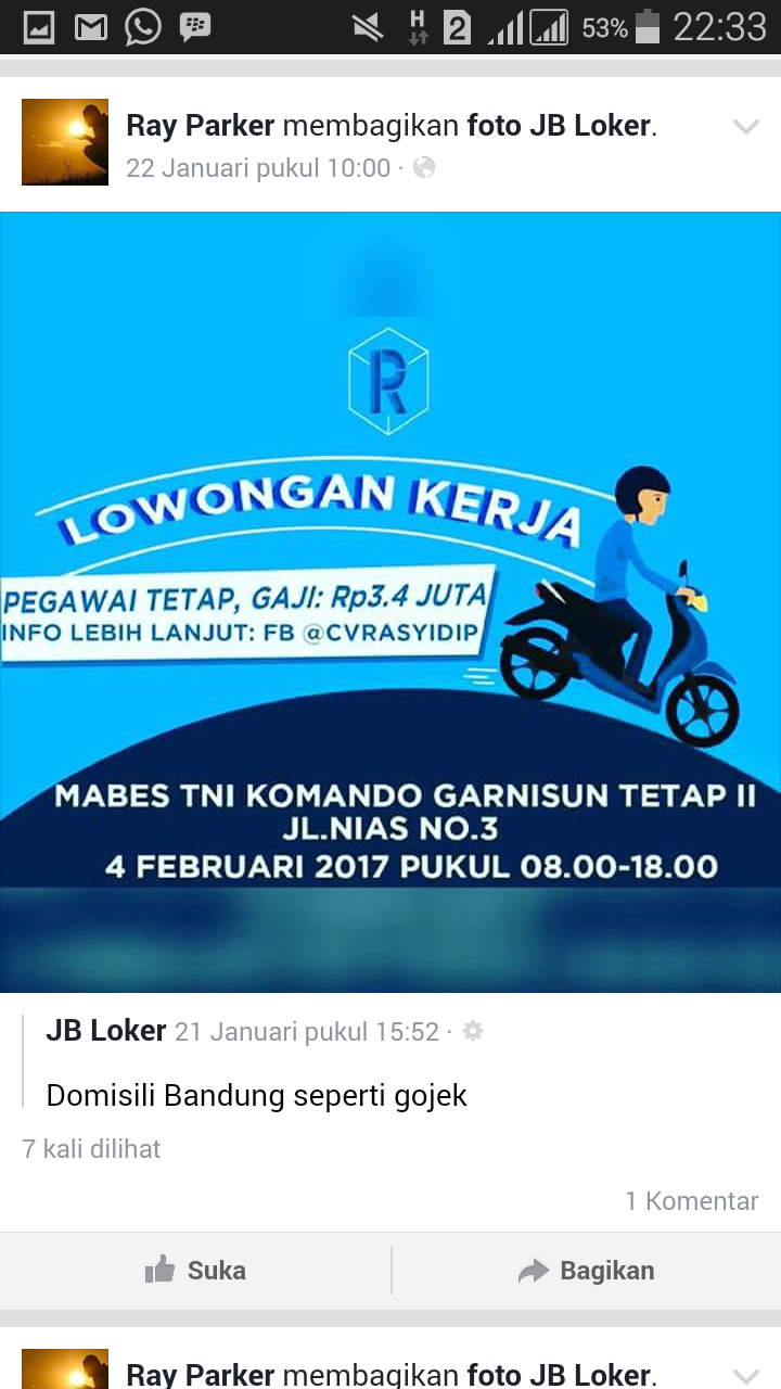 Lowongan Kerja Bandung Online