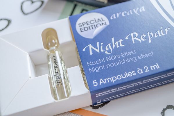 Arcaya Night Repair Ampullen