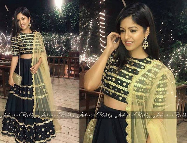 Celebrities in Ashwini Reddy Lehengas1