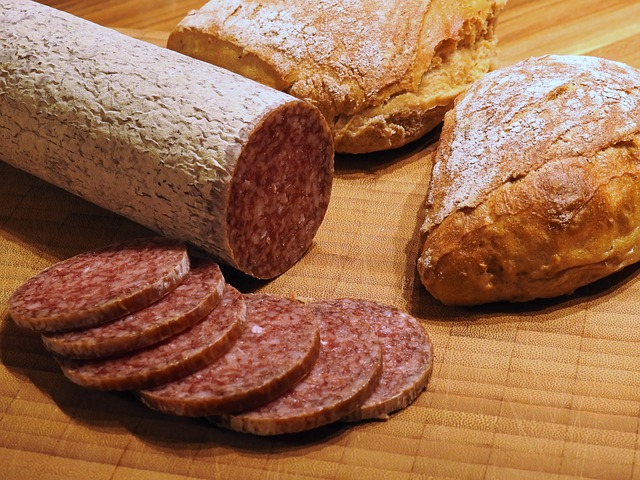 In Europe, you can have salami, bread, and wine picnics just about anywhere!