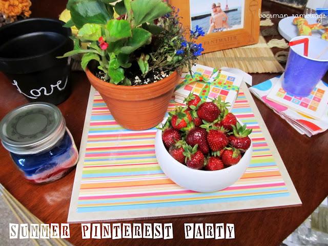 Summer Pinterest Party