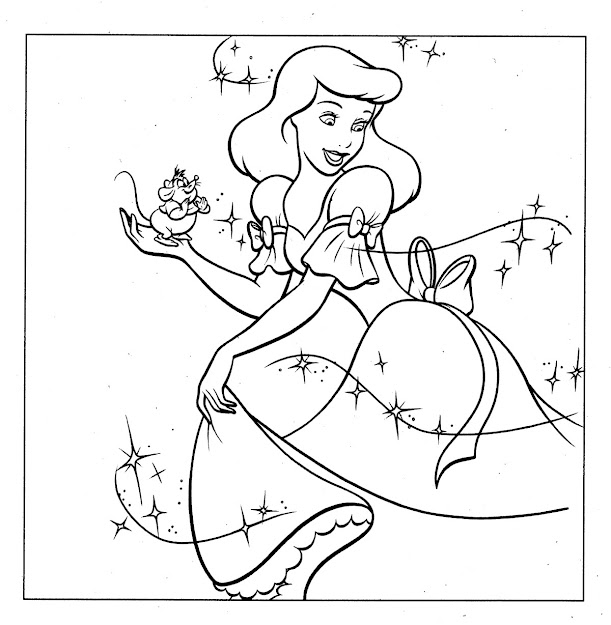 Princess Coloring Pages Disney