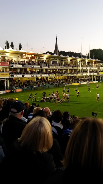 Rugby match at Bath