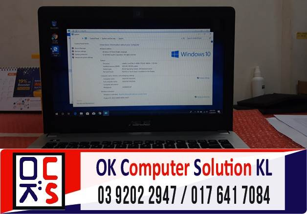 [SOLVED] SERVICE & UPDATE WINDOWS LAPTOP ASUS | REPAIR LAPTOP AMPANG 5