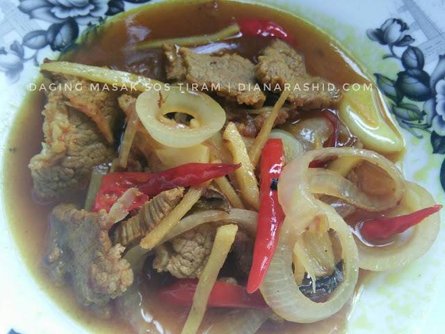 daging masak tiram