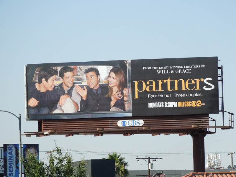 Partners sitcom billboard
