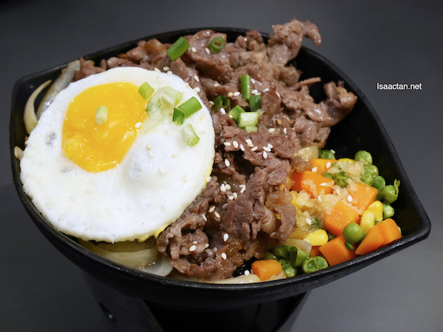 Honey Garlic Bulgogi Beef - RM 21.90 ala carte/ RM 24.25 Set