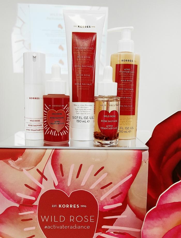 KORRES Wild Rose Deutschland Re-Launch mit neuen Produkten 1