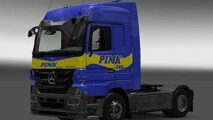 PIMK ltd skin for Mercedes MP3