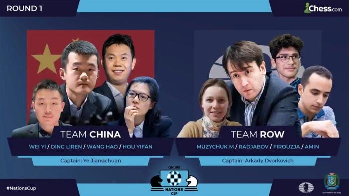 Les Chinois favoris sur le papier (Moyenne Elo rapide : 2718) avec le retour de Hou Yifan