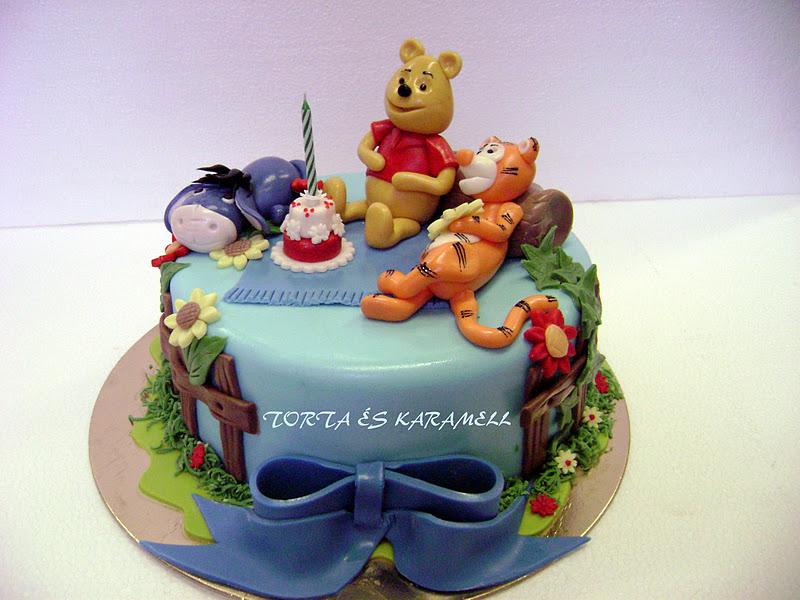 micimackós torta képek torta és karamell: VÁLOGATÁS A HÉTVÉGI TORTÁKBÓL micimackós torta képek