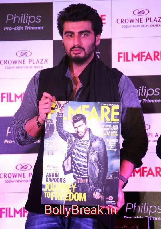 Arjun Kapoor launches the latest issue of Filmfare Magazine, Sunny Leone, Neha Dhupia, Sonakshi Sinha Snapped At DIfferent Events