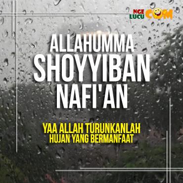 Gambar DP BBM Doa Hujan