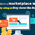 How to adorn a marketplace website build by using an Etsy clone like BuySell?