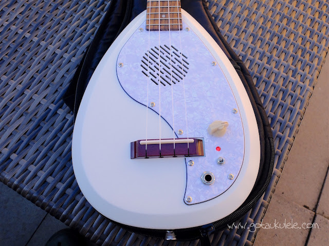 Vox Ukelectric 33 concert ukulele body