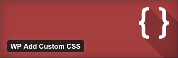 WP Add Custom CSS extension