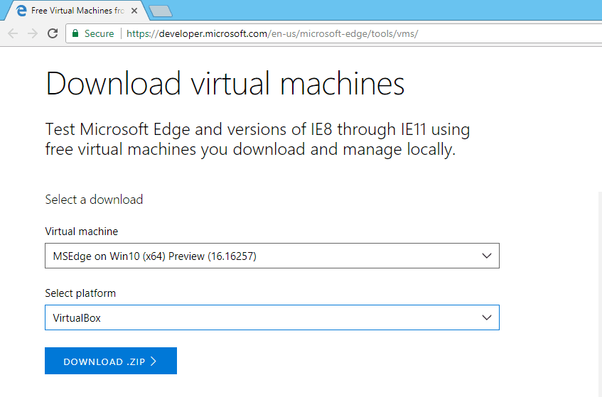 How to Run latest Windows 10 insider preview into VM