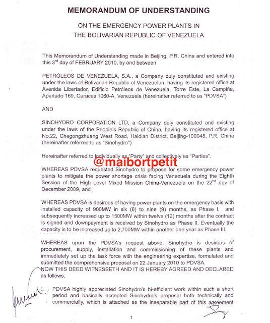 Sinohydro: La empresa china señalada de pagar sobornos por contratos de PDVSA