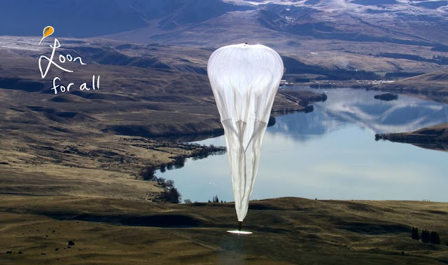 "Google ""Project Loon"" balloon Sri Lanka for Internet testing"
