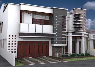 model rumah minimalis sederhana terbaru 2014 - desain