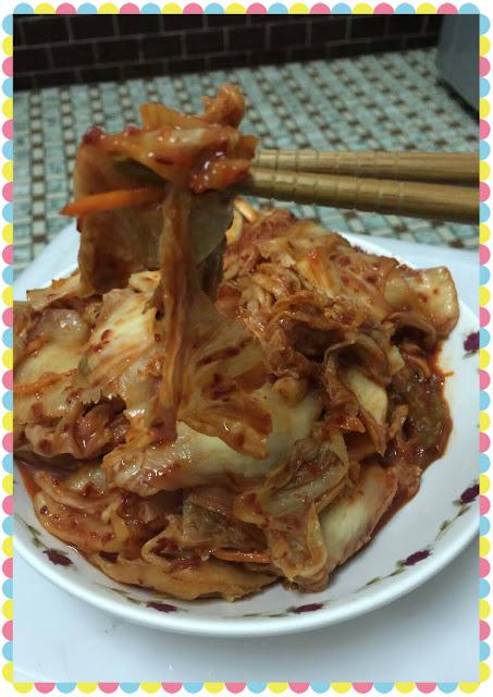 極好吃的韓式泡菜~