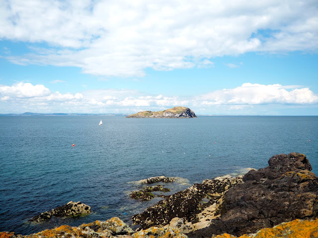 Craigleith view from North Berwick, East Lothian, Scotland
