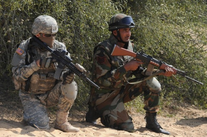 Indo-US Joint Military Exercise Yudh Abhyas 2012 - Bharat ...