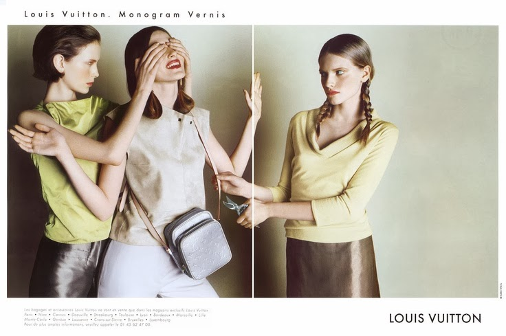Louis Vuitton by Marc Jacobs SS 1999 adv