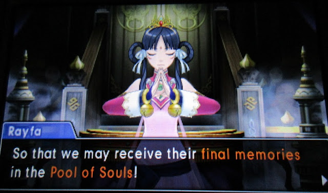 Phoenix Wright Ace Attorney Spirit of Justice Rayfa Pool of Souls