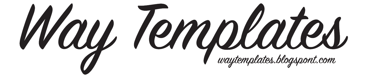 Way Templates | Best Blogger Free Responsive Templates