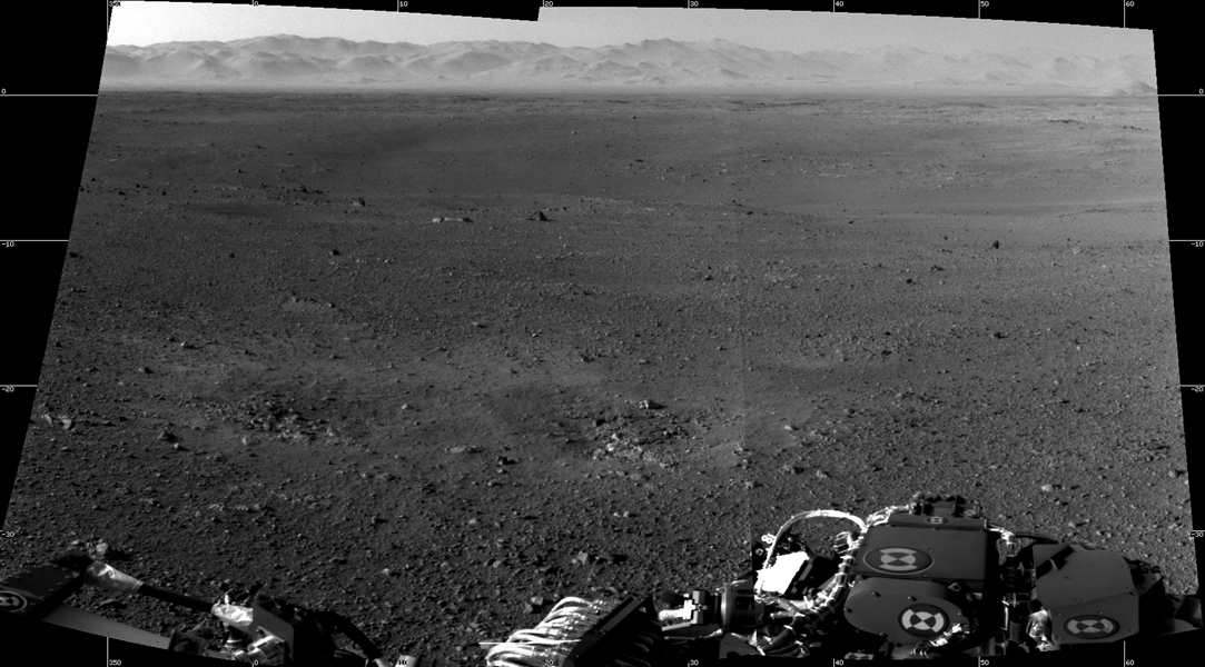 First 360-degree panorama from NASA's Curiosity Mars Rover ...
