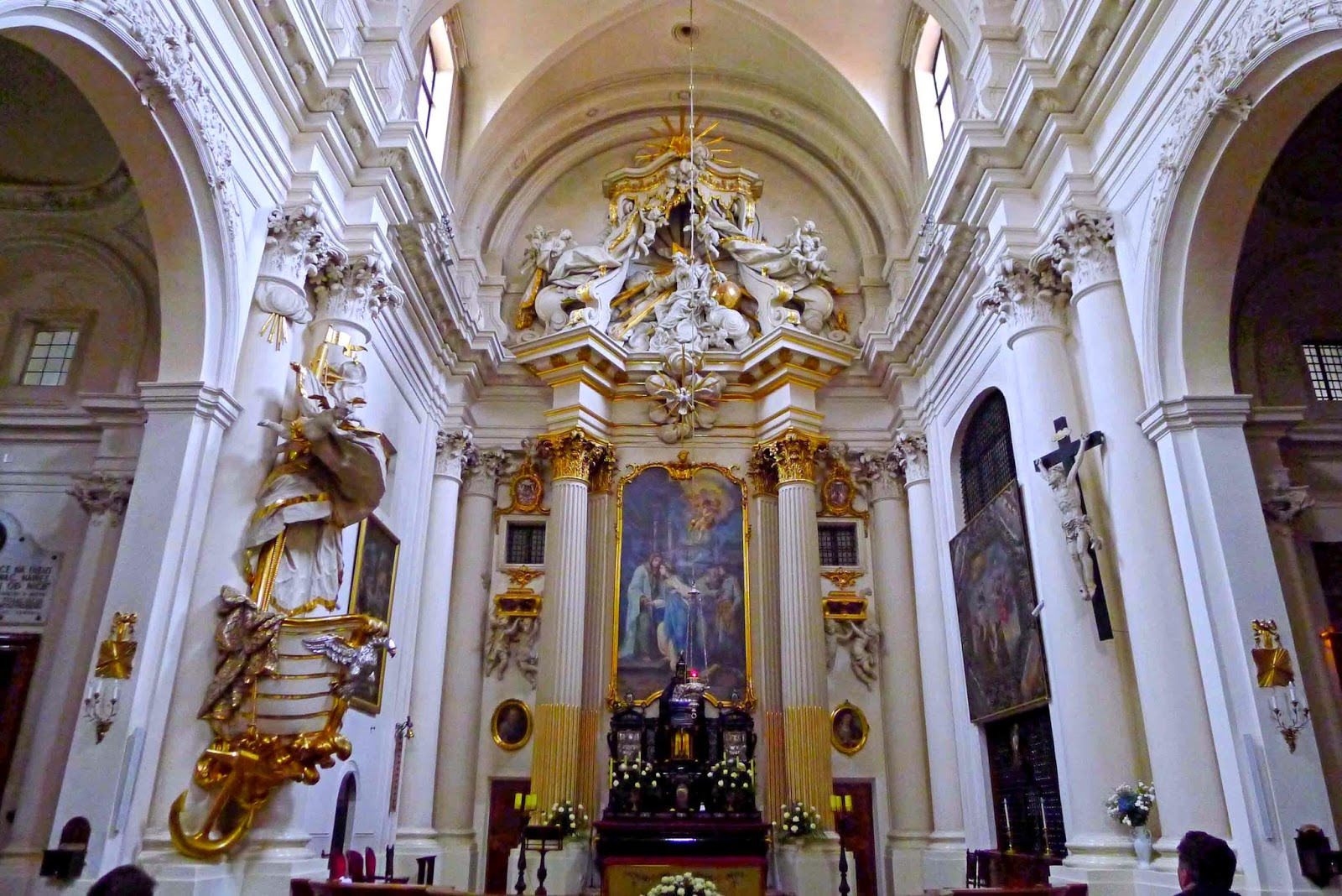 Visitationist Church Altar