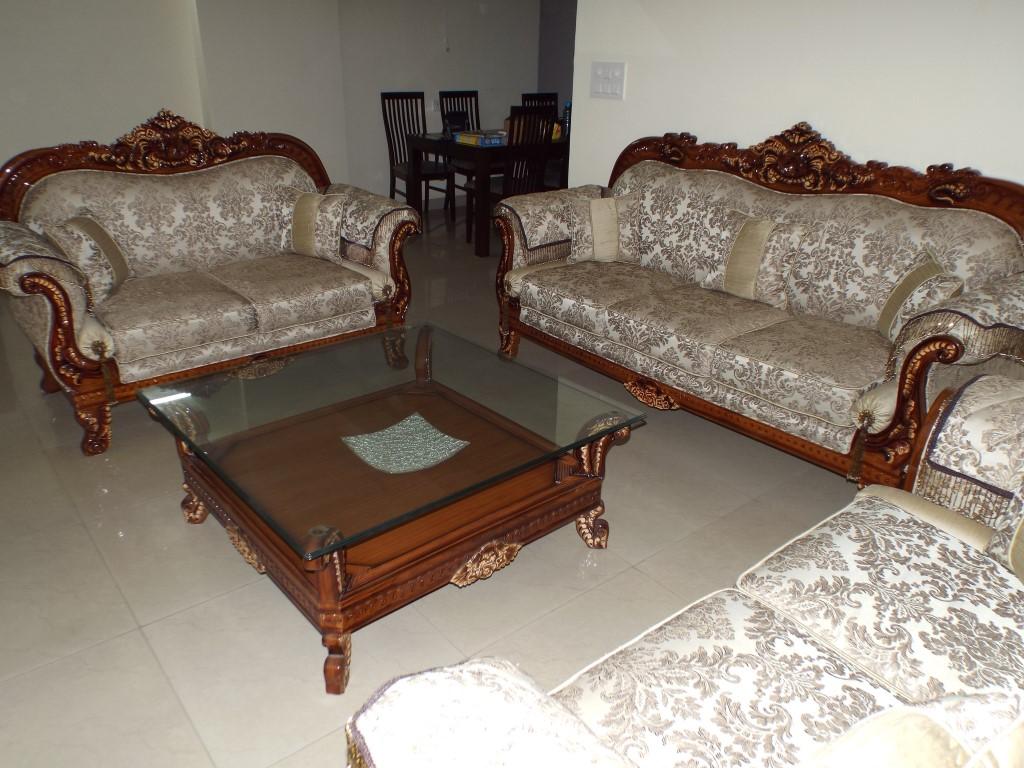 7 Seater Wooden Sofa Set Designs Best Way To Clean White Fabric Crossingrepublikownersandmembersassociation Croma