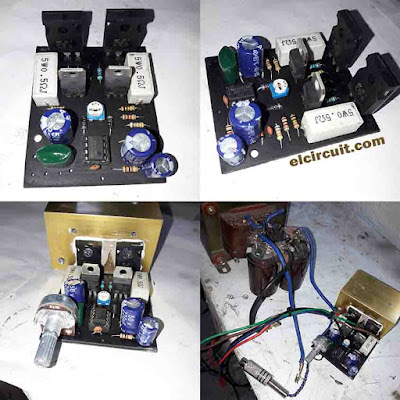 Already tested 140W Power Amplifier circuit