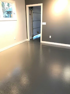 Canyon Painting can apply a durable epoxy coating to the garage floor in your Sedona home.