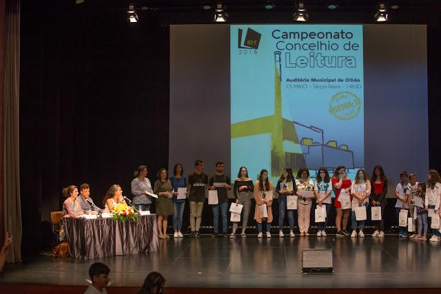 Auditório Municipal de Olhão recebeu 9.º Campeonato Concelhio de Leitura