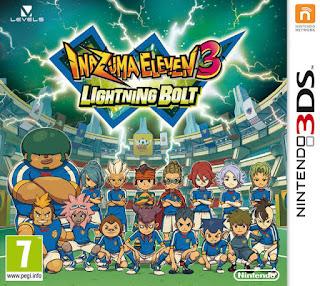 Inazuma Eleven 3: Lightning Bolt 3DS EUR