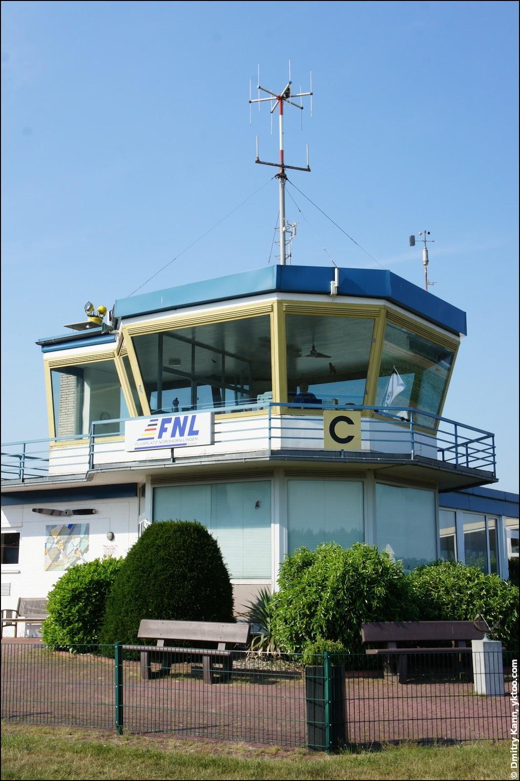 Nordhorn ATC tower.