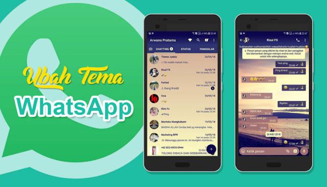 Cara Mudah Mengubah Tema Whatsapp Terbukti Berhasil!