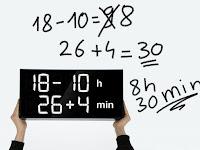 Albert Clock, Selesaikan Soal Matematika untuk Tampilkan Waktu