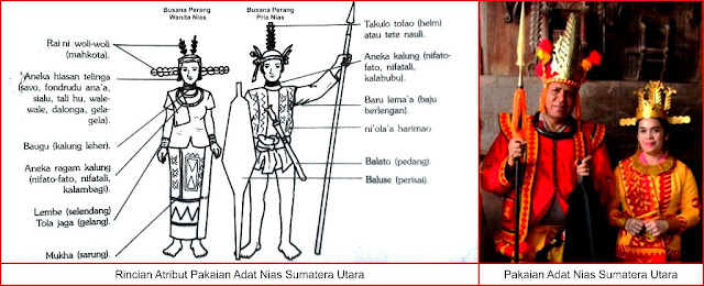baju adat nias sumatera utara