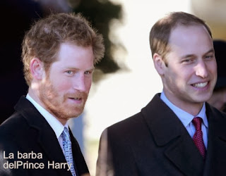 Barba Crecida de Prince Harry