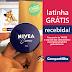 Amostras Grátis Recebidas - Creme Hidratante NIVEA