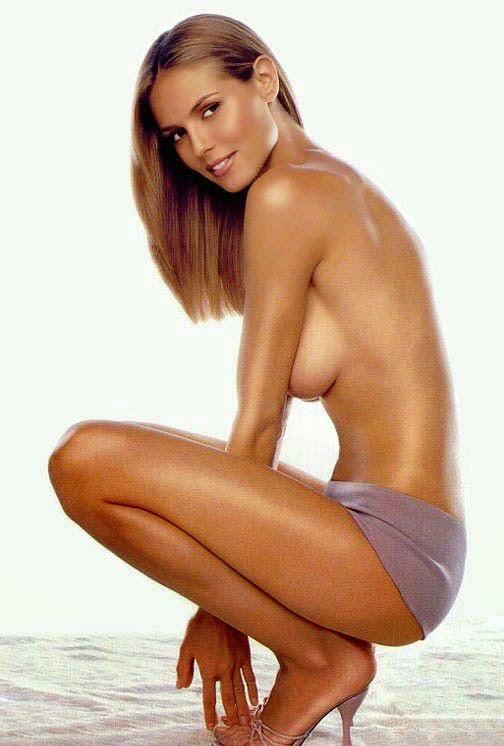 Underwear Models Heidi Klum