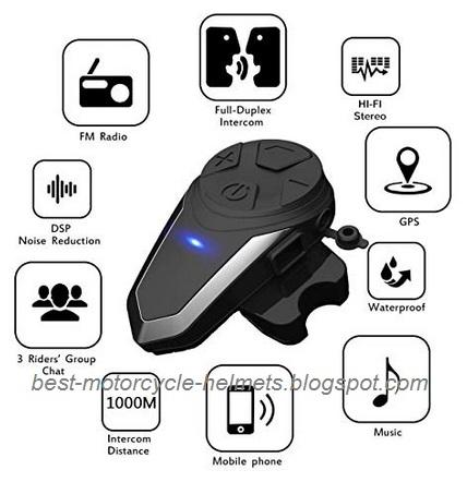 c36497118fd Best Motorcycle Helmet Bluetooth Headset