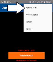 Cara Mengaktifkan Anonytun Untuk Internet Gratis