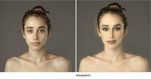 hasil photoshop wanita bangladesh